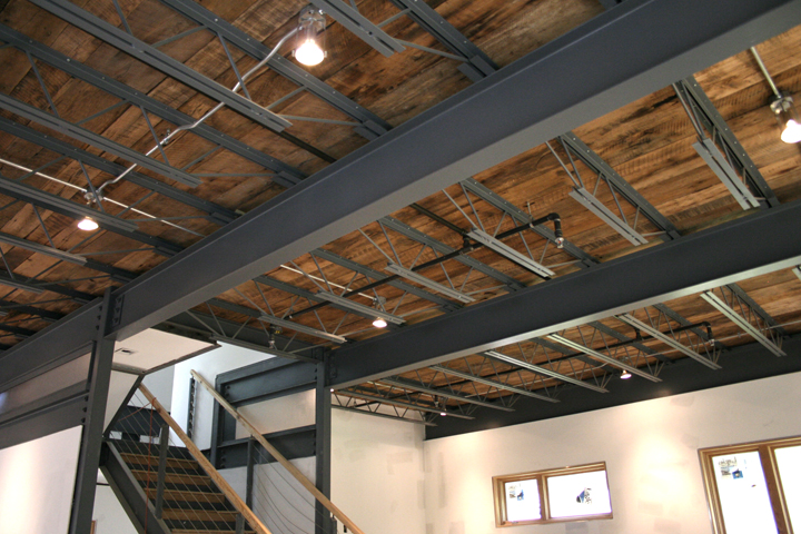 Wood Steel Floor System 3030 Ecosteel House