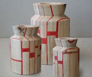 Wood Vases:The Iceland Project