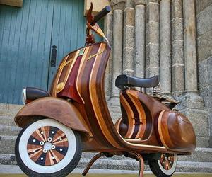 Wood Vespa | Carlos Alberto