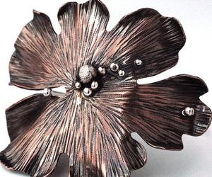 Wooded Leaf Bracelet:Custom Copper