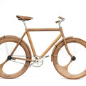 Wooden bicycle by Jan Gunneweg
