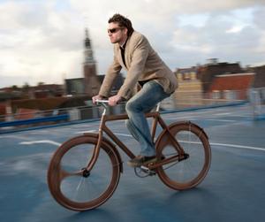 Wooden Bicycle by Jan Gunneweg