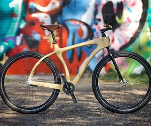 Wooden Bicycles by Chris Connor