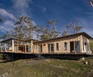 Wooden House Design in Perrin Ocean Area
