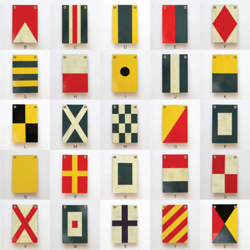 Wooden Nautical Flags By Best Made Co