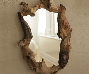 Wooden Root Mirror