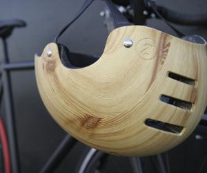 Woodgrain Helmet by Mission Bicycle
