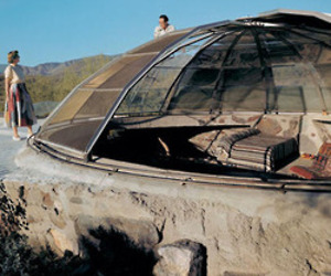 Woods Residence (Dome House) by Paolo Soleri and Mark Mills, 1950