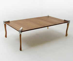Woodsman Axe Coffee Table | Duffy London