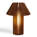Woodtable & Woodfloor Lamps by Fernando & Humberto Campana