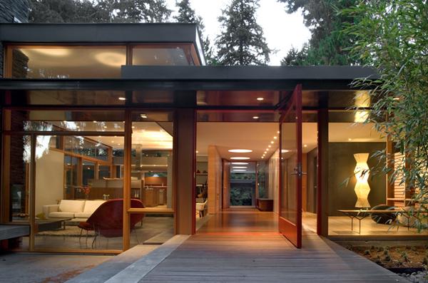 Woodway Residence in Seattle   Bohlin Cywinski Jackson