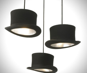 Wooster Top Hat Pendant Lighting by Innermost