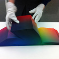 World's Colors in a Single Cubic Book: RGB Colorspace Atlas
