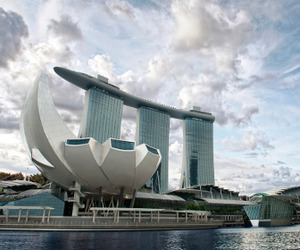 World's first Art Science museum to be unveiled in Singapore