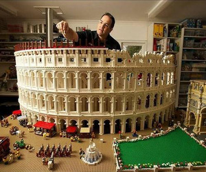 World's First LEGO Colosseum by Ryan McNaught