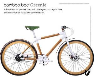 Bamboo Bee Handcrafted Bicycle