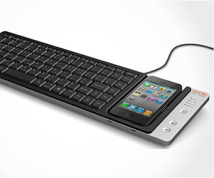 Wow Keys Iphone Keyboard dock by Omnio