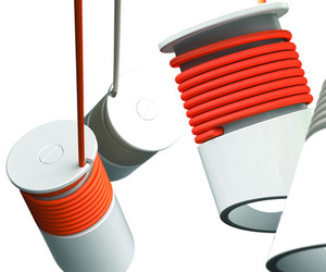 Wrappie Lamp by Tomasz Pydo