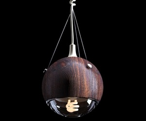 Wrecking Ball Lamp by Andrew Mitchell