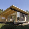 X House, A Very Modern Log Cabin