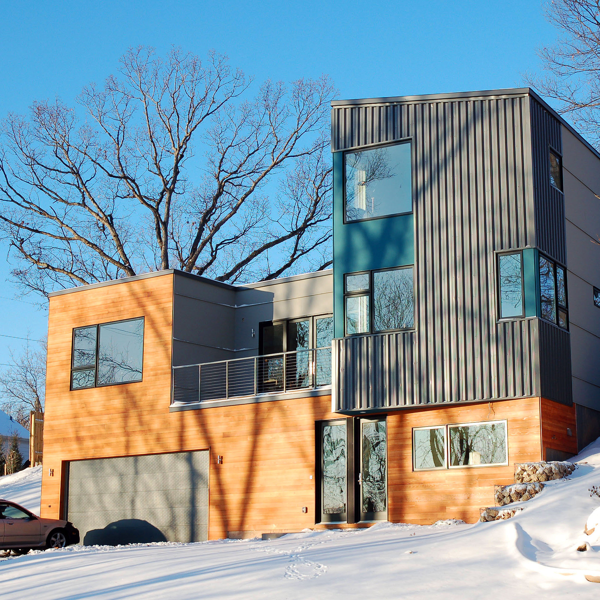 X line 003 by hive modular for Modern prefab homes mn
