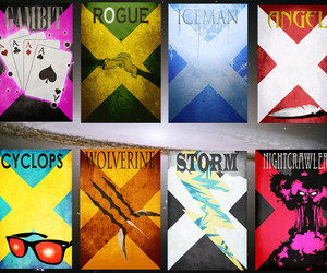 X-Men Minimalist Movie Posters