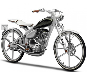 Yamaha Y125 MOEGI Hybrid Motorcycle/Bicycle