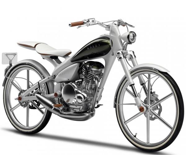 yamaha y125 moegi hybrid motorcycle bicycle. Black Bedroom Furniture Sets. Home Design Ideas
