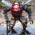 Yang Junlin Transforms Junk into Army of Robots