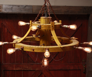 Yard Stick Chandelier | Bindle Art & Design