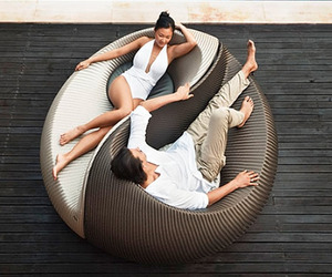 Yin Yang Outdoor Lounging Chair