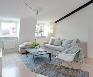 Scandinavian Penthouse With Authentic Details