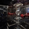 Yu Bar at the Marriott Hotel in Shanghai by Kokaistudios