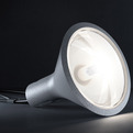 Yupik: styrofoam lamp by Form Us With Love for Fontana Arte