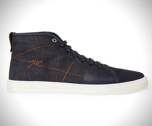 Yves Saint Laurent Malibu High Top Sneakers