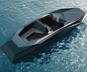 Z Boat by Zahah Hadid