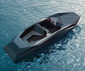 Z-boat Designed by Zaha Hadid