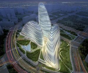 Zaha Hadid's Wangjing Soho complex
