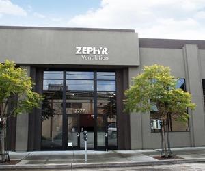 Zephyr built a 6,000 sq ft custom-made showroom
