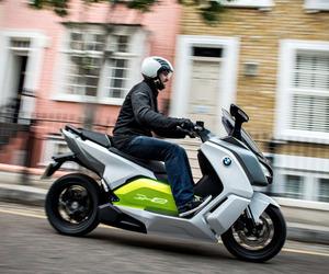Zero Emissions BMW Scooter