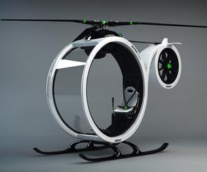 Zero Helicopter Concept by Hector del Amo