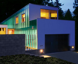 Zig Zag House, Washington by David Coleman Architecture