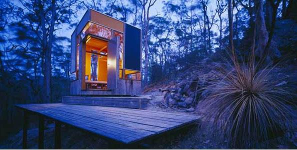 Zigzag Cabin By Drew Heath