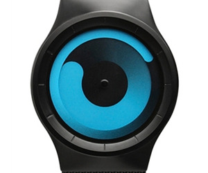 Ziiiro Unisex Mercury Black Ocean Watch