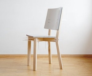 Zipfred, Cardboard Chair from Moormann