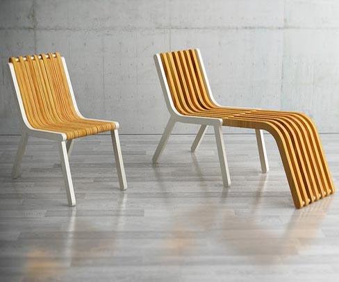 Ziris A Foldable Wooden Chair By Redbit