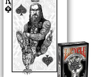 Zombie Riders Illustrated Playing Cards