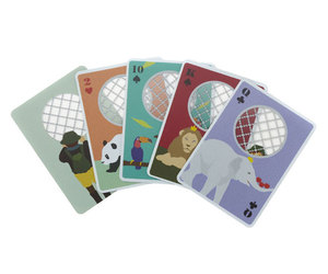 Zoo Playing Card by IDEA International